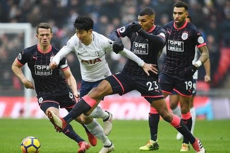 Son's 2 in Spurs victory
