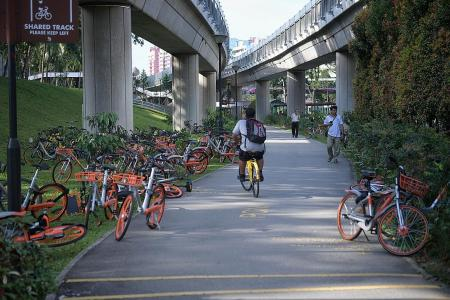 Move to license bike-sharing to curb illegal parking problem
