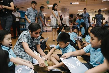 RSAF releases new children's activity book to celebrate 50th birthday