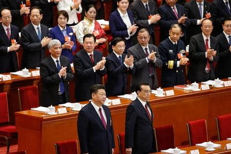 Historic meeting lauds lifetime power for China's President Xi