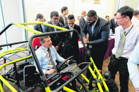 ITE engineering students build electric-powered kart from scratch