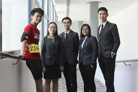 Temasek Poly students seek to help elderly with new project