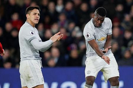 Pogba's not taking things seriously, Sanchez starting on reputation