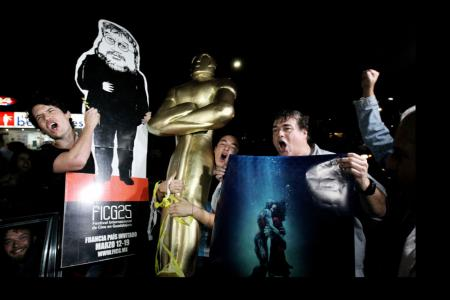 Mexicans hail Oscars as sign of cultural sway despite Trump