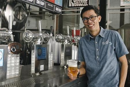 Thirst for craft beers in Singapore on the rise
