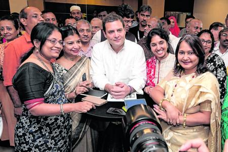 India's success is hugely because of the Indian people: Rahul Gandhi