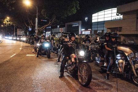 Revving up the Harleys to go down Nostalgia Lane