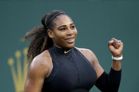 Serena sets up third-round clash with sister Venus