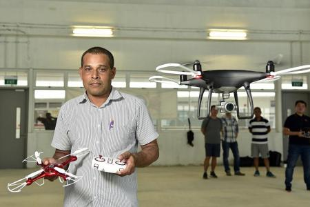 ITE drone course a hit with adult students