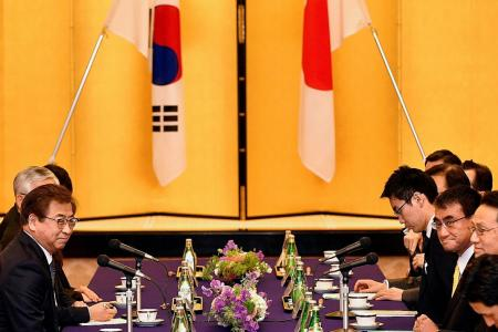 Japan, S Korea to maintain pressure on North, China urges patience