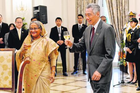 Singapore companies urged to look to fast-growing Bangladesh market