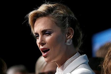 Charlize Theron worried about offending crew with Gringo baddie role