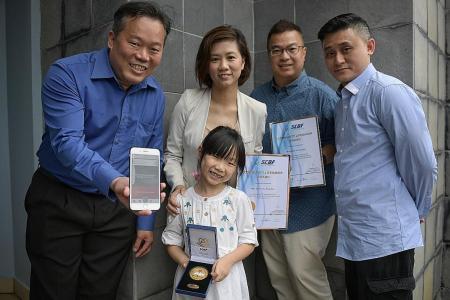 Girl, 6, among five given award for saving cardiac arrest victim