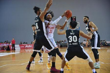 Singapore Slingers playing for pride and honour