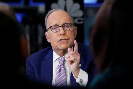 Trump picks TV commentator Kudlow as economic adviser