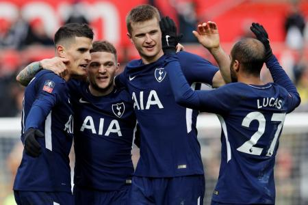 Spurs into FA Cup semis after sinking Swansea