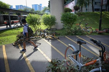 Limiting fleet size for shared-bike operators will help