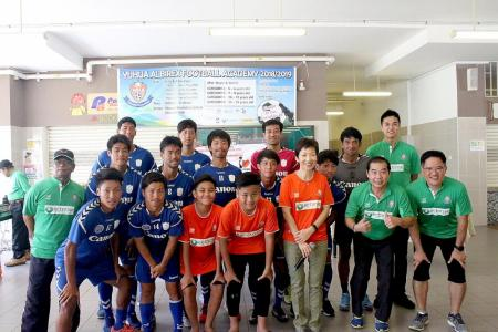 Albirex's tie-up with Yuhua CSC enters sixth year