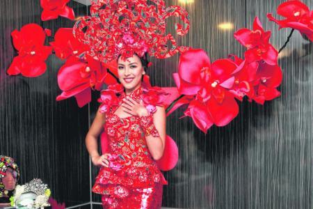 Miss Universe Singapore Lisa Marie White tries hand at interior design