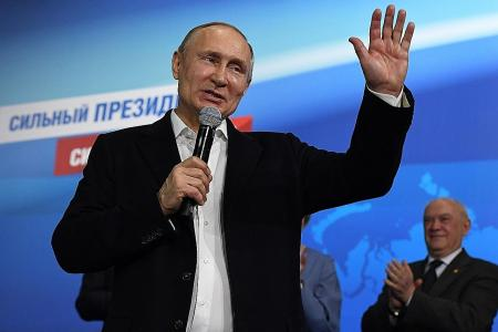 Russian President Putin's next big task is to rebrand the country