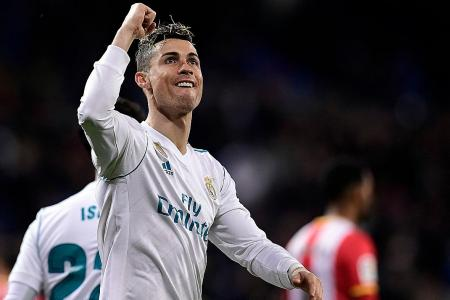 Ronaldo scores 50th career hat-trick, leaves Real coach Zidane in awe