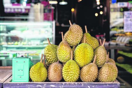 Fans, sellers reaping bumper crop of durians