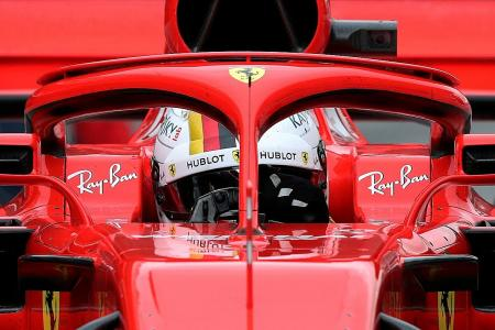 Halo safety feature divides F1