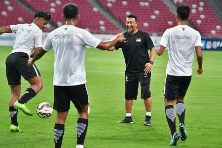 Fandi urges Young Lions to battle for Asiad spot