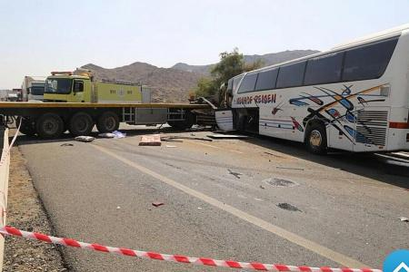S'porean pilgrim killed in Mecca bus crash, several others hurt