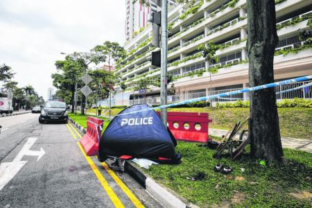 Woman, 72, dies after she is hit by lorry at Sin Ming