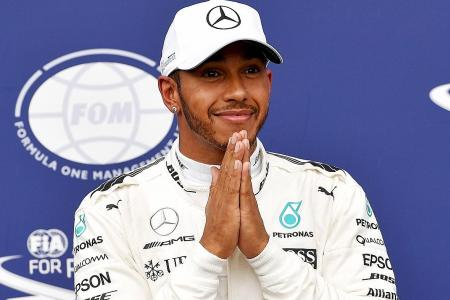 Four-time F1 champion Hamilton still the man to beat