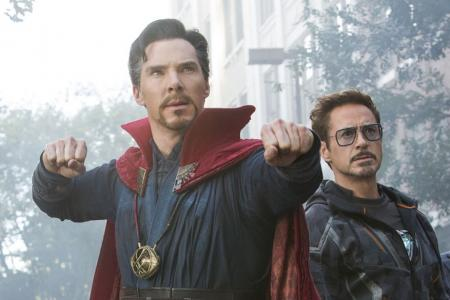 Avengers: Infinity War stars Downey Jr, Cumberbatch coming to town