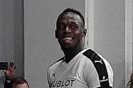 Bolt to train with Dortmund today