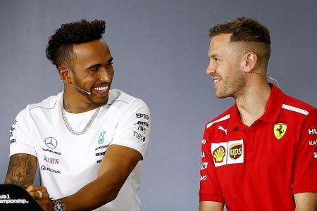 Hamilton and Vettel bury the hatchet ahead of F1 season-opener