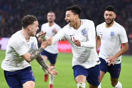 Lingard scores as England pip Holland