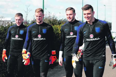 Butland relishes battle for No. 1 spot