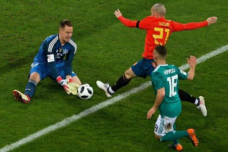 Keepers told to get used to World Cup ball
