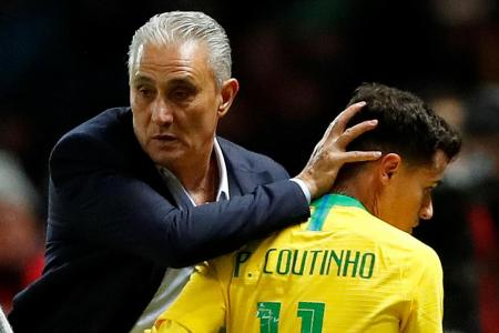 Tite pleased Brazil could cope without Neymar