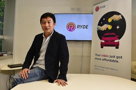 Ryde to enter private-hire service here