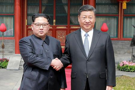 Kim seeks to boost clout with China visit