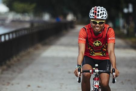 Cycling helps him lower rate of epileptic seizures
