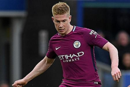 De Bruyne relishes chance to seal EPL title in front of rivals