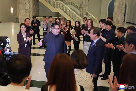 South Korean artists deliver message of hope and unification