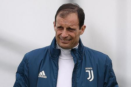 Allegri's motto: Good defending is as beautiful as a great attacking m