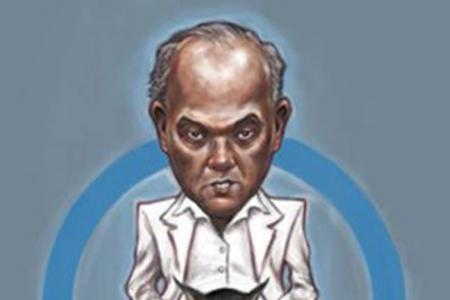 Shanmugam describes Sonny Liew as a 'good cartoonist'