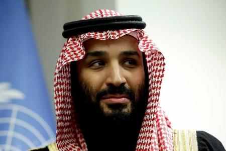 Saudi Crown Prince says Israel has 'right' to a homeland