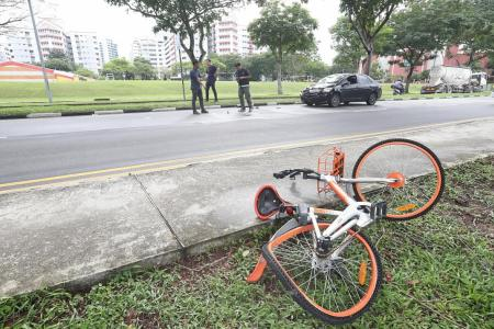 Motorcyclist knocked down by van, teen cyclist dies after car crash