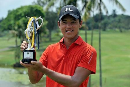 Poh the big attraction at SPGA Golf Challenge Series