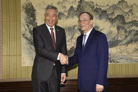 S'pore continues to support China's opening up