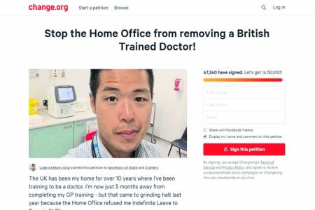 S'porean doctor may have to leave Britain over late visa renewal